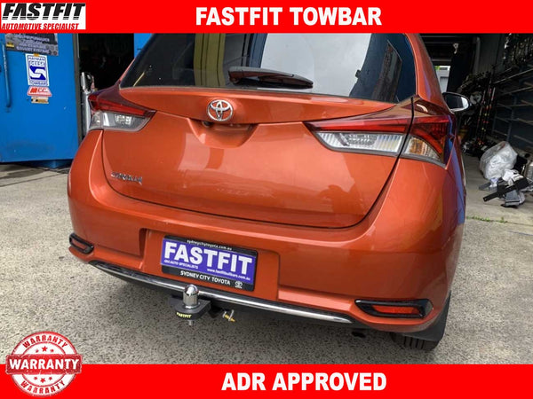 FASTFIT Towbar to suit Toyota Corolla Hatch 5/2007-10/2009