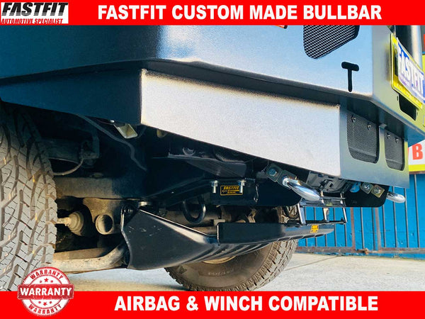FastFit Heavy Duty Towbar & Bullbar to suit Mitsubishi Delica Series 2 & 3 COMBO DEAL