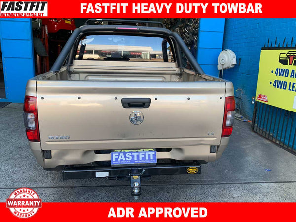 FastFit Heavy Duty Towbar to suit Holden RODEO UTE 02/2003-ON