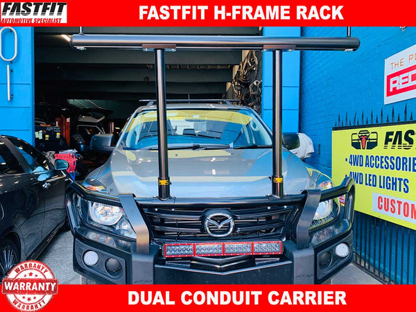 FastFit H-Frame Conduit Rack to suit Mazda BT-50