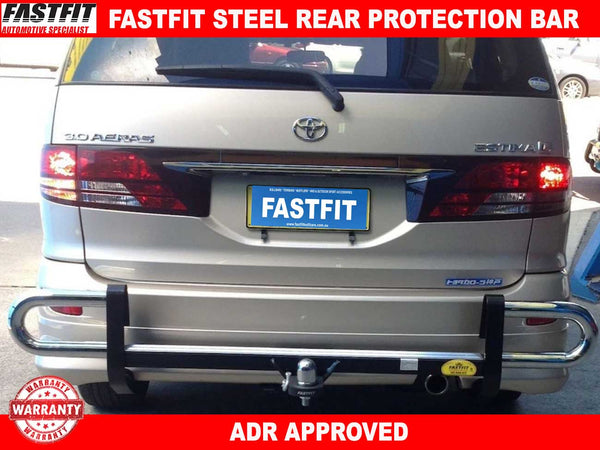 FastFit Steel Rear Protection Bar to suit Toyota Estima Imorted