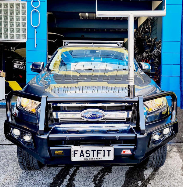 MCC 707-02 Falcon A-Frame Bullbar with Fog Lights to suit FORD RANGER 2019
