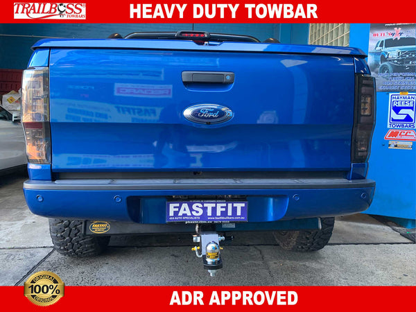TrailBoss Heavy Duty Towbar to suit Ford Ranger Series2 4D Tub Body 8/2015-ON