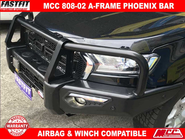 MCC 808-02 Phoenix A-Frame Bullbar to suit FORD Ranger PX MK-II 08/2015-ON