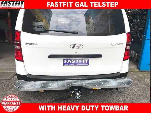 FastFit Gal Telstep Rear with Heavy duty Towbar to suit Hyundai iLoad 02/2008-ON