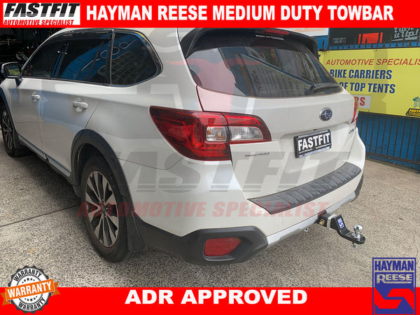 HAYMAN REESE TOWBAR TO SUIT ON SUBARU OUTBACK/LIBERTY 2015-ON
