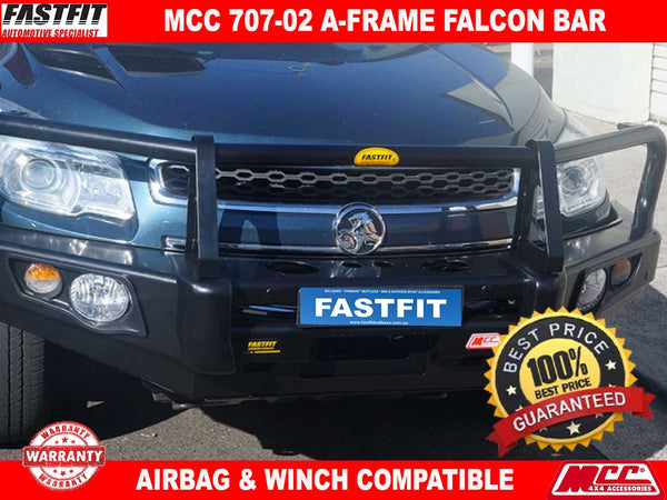 MCC 707-02 Falcon A-Frame Bullbar to suit HOLDEN COLORADO 7 12/2012-2016