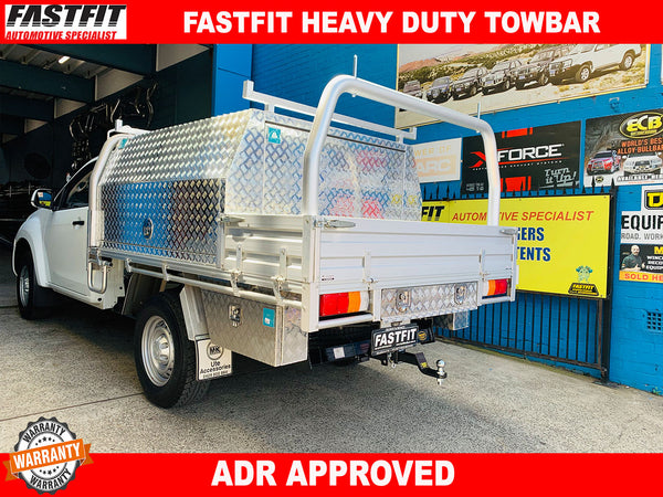 FASTFIT HEAVY DUTY TOW BAR TO SUIT ON HOLDEN/ISUZU DMAX NO STEPS