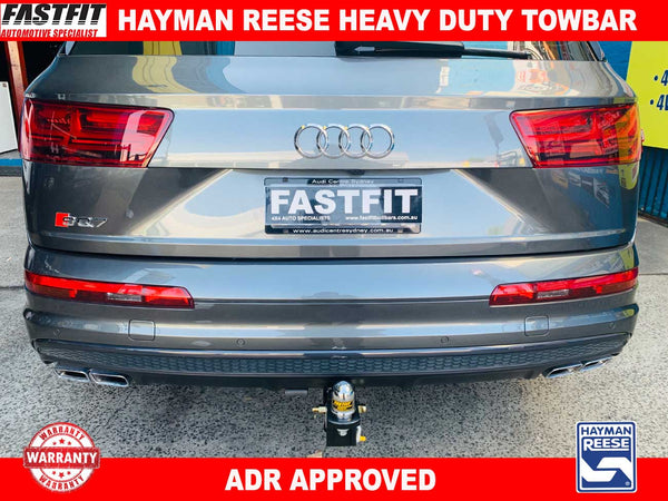 Hayman Reese Heavy Duty Towbar to suit Audi Q7 4M Series 06/2015-ON