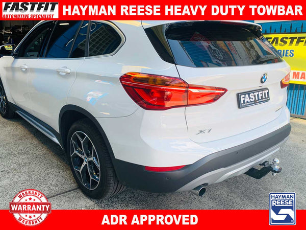 Hayman Reese Heavy Duty Tow bar to suit BMW X1 F48 CL4 2015-ON