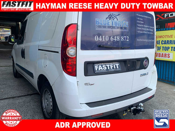 Hayman Reese Heavy Duty Towbar to suit FIAT Doblo 263 5D VAN CL4 12/2014-ON