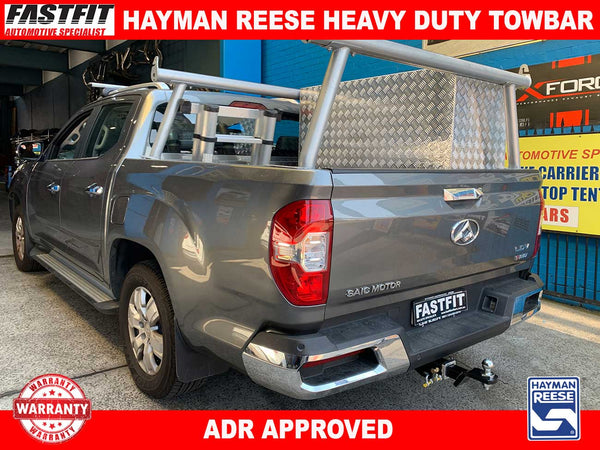 Hayman Reese Heavy Duty Towbar to suit LDV T60 SK8C CL4 07/2017-ON