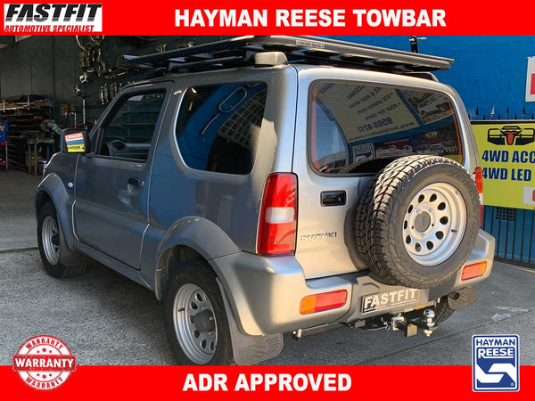 Hayman Reese Towbar to suit Suzuki Jimmy 01/2009-10/2018