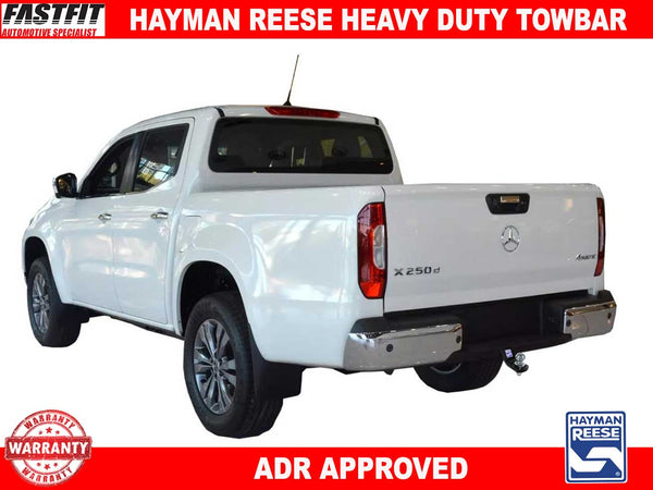 Hayman Reese Heavy Duty Towbar to suit Mercedes X-CLASS CL4 12/2017-ON