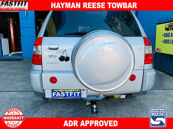 Hayman Reese Towbar to suit CHERY J11 4WD 01/2010-ON