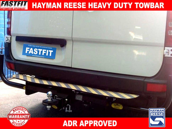 Hayman Reese Heavy Duty Tow Bar to suit Mercedes SPRINTER 412D SWB HLP 4/1998-10/2006