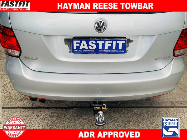 Hayman Reese Towbar to suit Volkswagon Golf Wagon 01/2010-08/2013