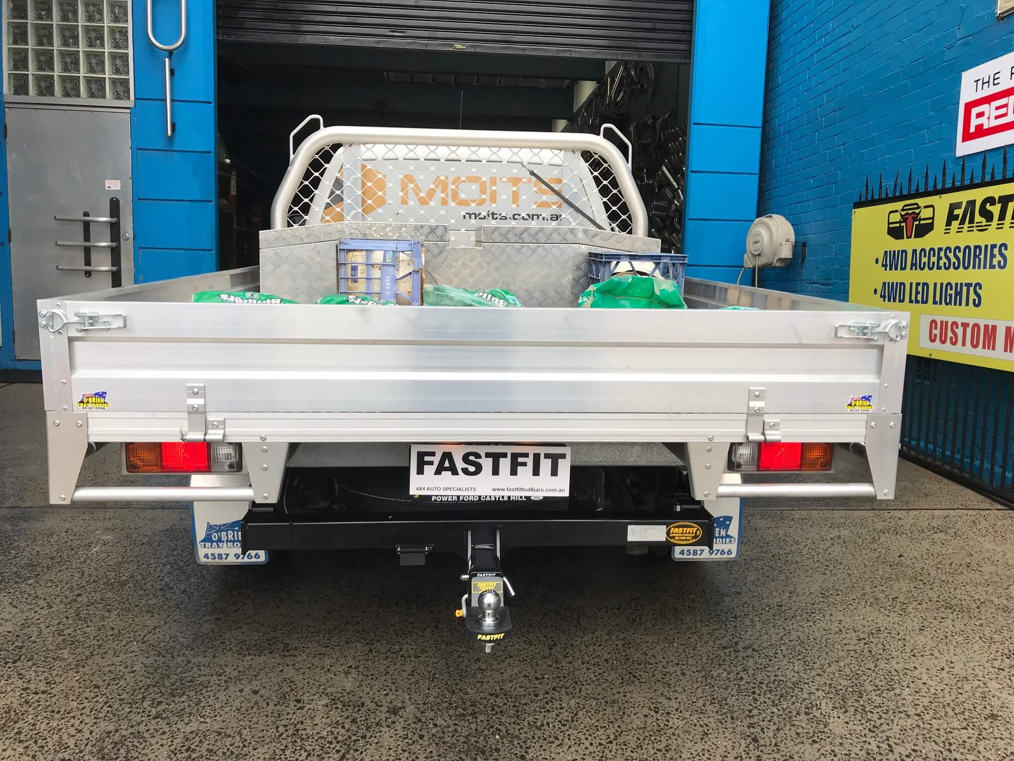 Fastfit Towbar To Suit Ford Ranger Ute 8 15 On Fastfit Bullbars And Towbars