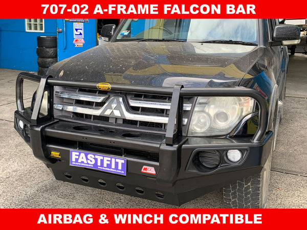 MCC 707-02 Falcon A-Frame Bar with Under Protection to suit Mitsubishi Pajero NS-NT 2006-ON