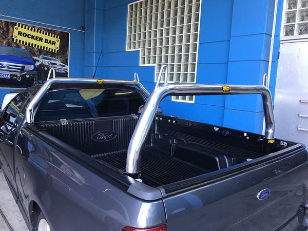 Alloy Sports Bars/ ROLL BARS for FORD FG UTE