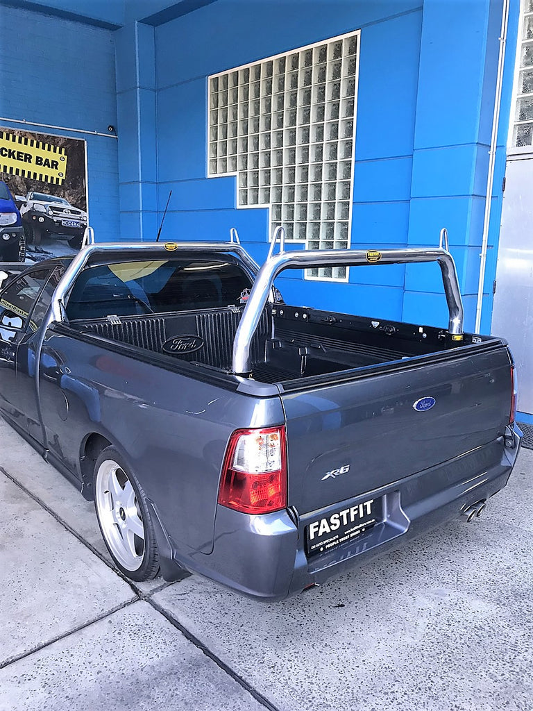 Alloy Sports Bars Roll Bars For Ford Fg Ute Fastfit