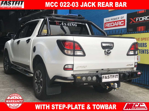 MCC 022-03 Jack Rear Bar with Step Plate to suit MAZDA BT50 10/11-ON