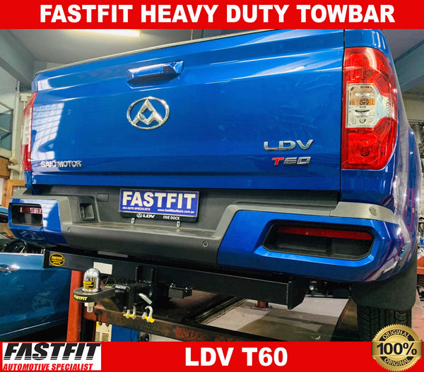 Fastfit Heavy Duty Towbar to suit LDV T60 07/2017-ON