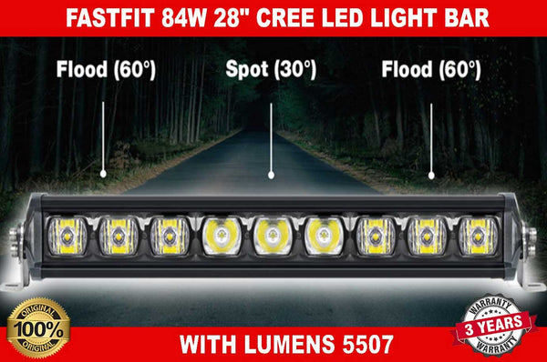 "84W 28"" inch CREE LED LIGHT BARS"