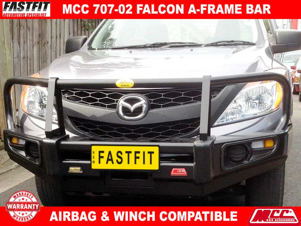 MCC 707-02 A-Frame Falcon BullBar with Under Protetcion to suit Mazda BT50 11/2006-10/2011