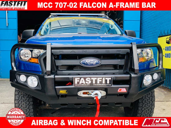 MCC 707-02 A-FRAME Falcon Bar to suit Ford Ranger PX MK II 08/2015-ON