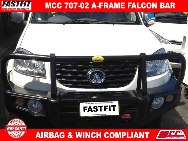 MCC 707-02 A-Frame Falcon BullBar to suit Great Wall V240 04/2011-ON