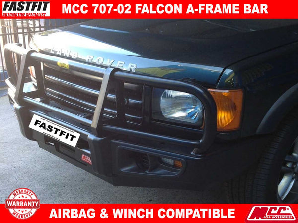 MCC 707-02 Falcon BullBar with Under Protection to suit Land Rover Discovery II 02/1999-04/2005