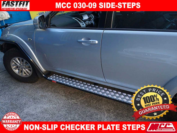 MCC 030-09SR Side Steps to suit Mitsubishi Challenger PB-PC 12/2009-12/2015