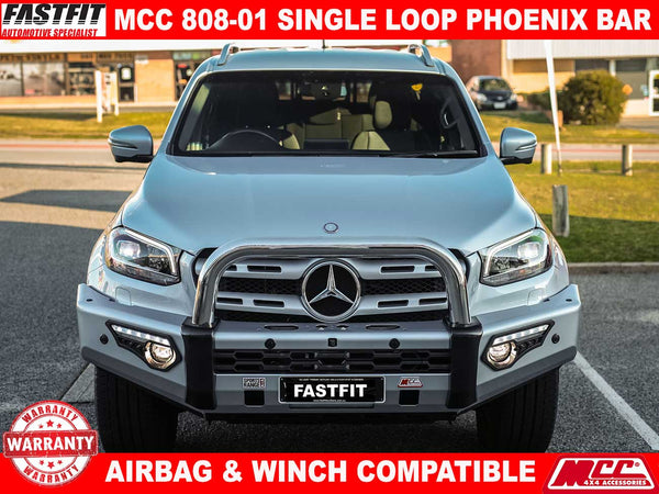MCC 808-01 Single Loop Phoenix Bar to suit Mercedes X-Class 12/2017-ON