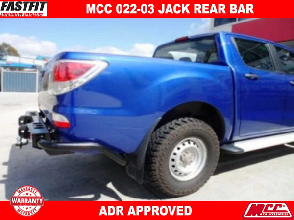 MCC 022-03 Jack Rear Bar to suit Mazda BT50 11/2006-10/2011