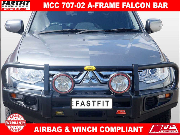 MCC 707-02 A-FRAME Falcon Bullbar with Under Protection to suit Mitsubishi Challenger PB-PC 12/2009-12/2015