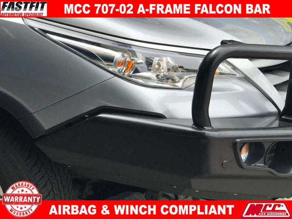 MCC 707-02 A-Frame Falcon with Under Protection to suit TOYOTA FORTUNER 01/2016-ON