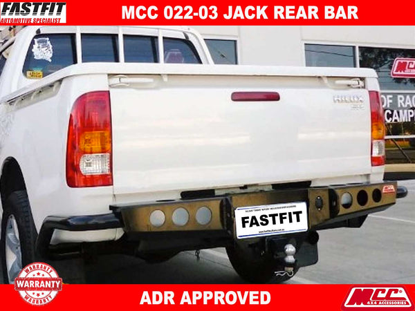 MCC 022-03 Rear Jack Bar to suit Toyota Hilux 03/2005-06/2011