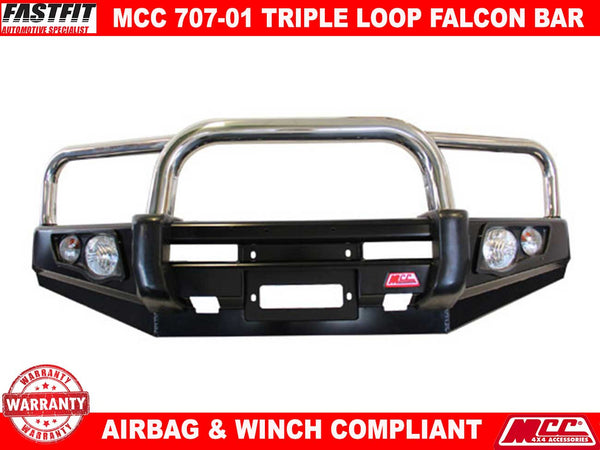 MCC 707-01 Triple Loop Falcon Bull Bar to suit Mercedes X-Class 12/2017-ON