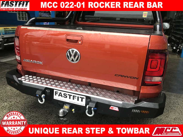 MCC 022-01 Rocker Rear Step Bar to suit Volkswagon Amarok 2010-ON