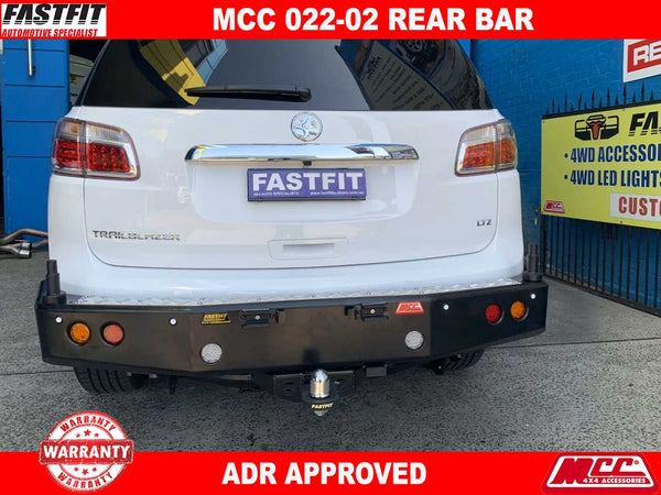 MCC 022-02 Rear Bar to suit Holden TrailBlazer 11/2013-ON