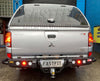 MCC 022-03 Jack Rear Bar w/ Tail Lights & Step Plate to suit  MITSUBISHI MN TRITON