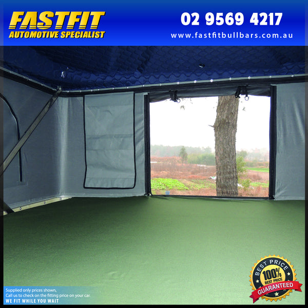 FastFit Magshell Tower Pop Up Roof Top Tent (Remote/Battery Operated)