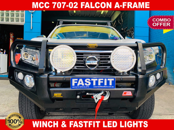 MCC 707-02 Falcon A-Frame Falcon bar to suit NISSAN Navara NP300 06/2015-ON