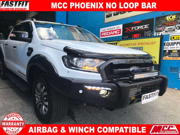 MCC Phoenix Bar with No Loop to suit FORD Ranger 08/2015-ON
