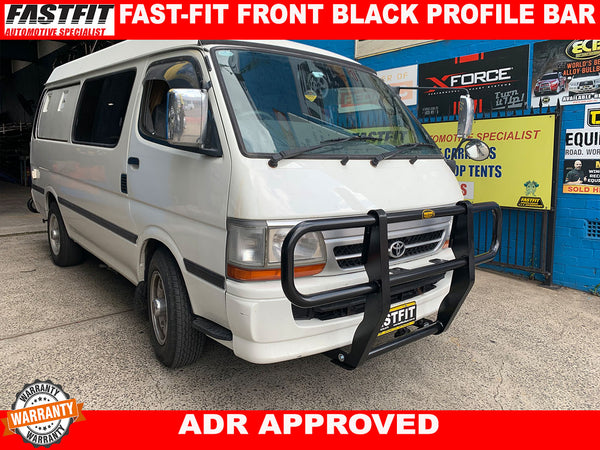 FASTFIT BLACK PROFILE BAR TO SUIT ON TOYOTA HIACE 1999