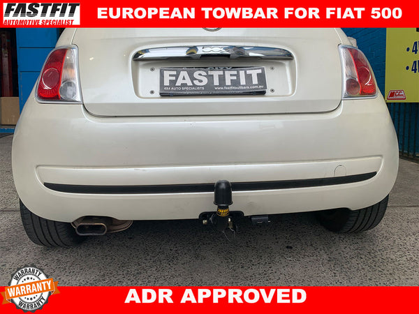 FAST-FIT EUROPEAN TOWBAR FOR FIAT 500