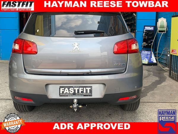 Hayman Reese Towbar to suit PEUGEOT 4008 2012-ON