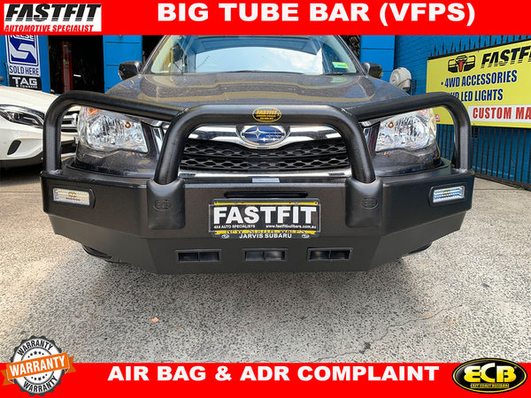 ECB BIG TUBE BULL BAR  TO SUIT ON SUBARU FORESTER 2013-ON