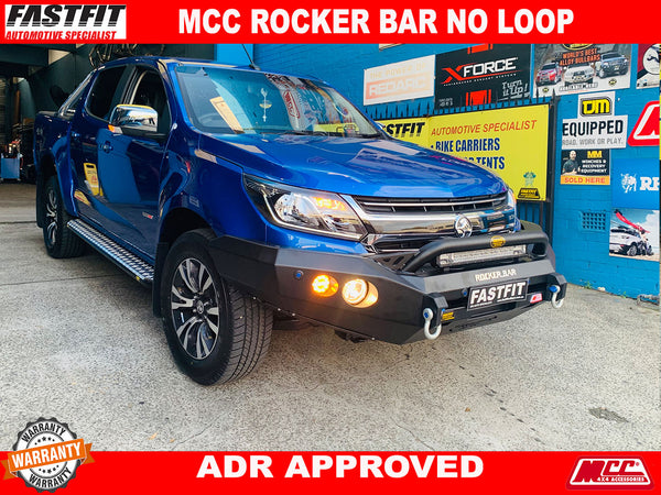 MCC 078-01 Rocker BullBar to suit Holden Colorado RG